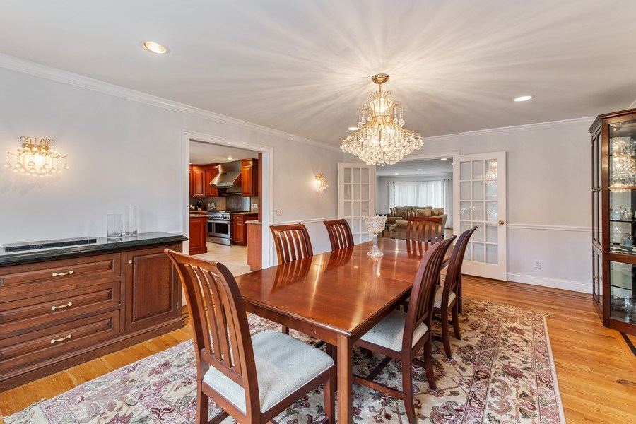 Real Estate Photography - 74 Dogwood Lane, Pleasantville, NY, 10570 - Main Level - Dining Rm Opens to Kitchen, Living Rm