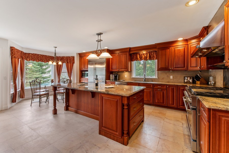 Real Estate Photography - 74 Dogwood Lane, Pleasantville, NY, 10570 - Main Level -  Dine In Kitchen