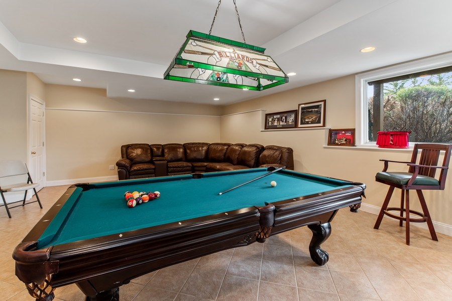 Real Estate Photography - 74 Dogwood Lane, Pleasantville, NY, 10570 - Basement - Play / Recreational Room
