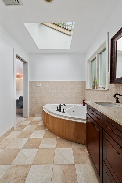 Real Estate Photography - 2896 S Deerfiled Ave, Yorktown Heights, NY, 10598 - Master Bathroom