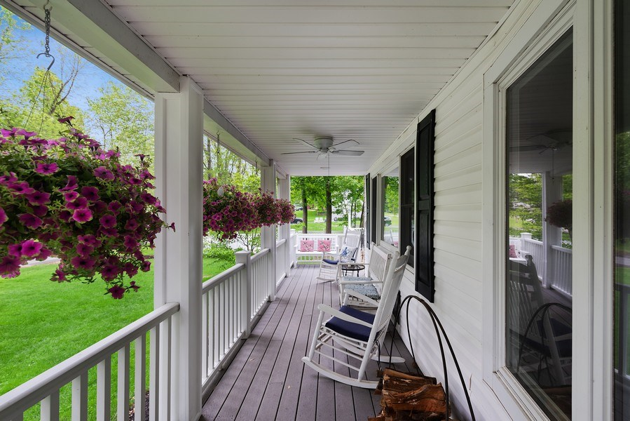 Real Estate Photography - 2896 S Deerfiled Ave, Yorktown Heights, NY, 10598 - Porch