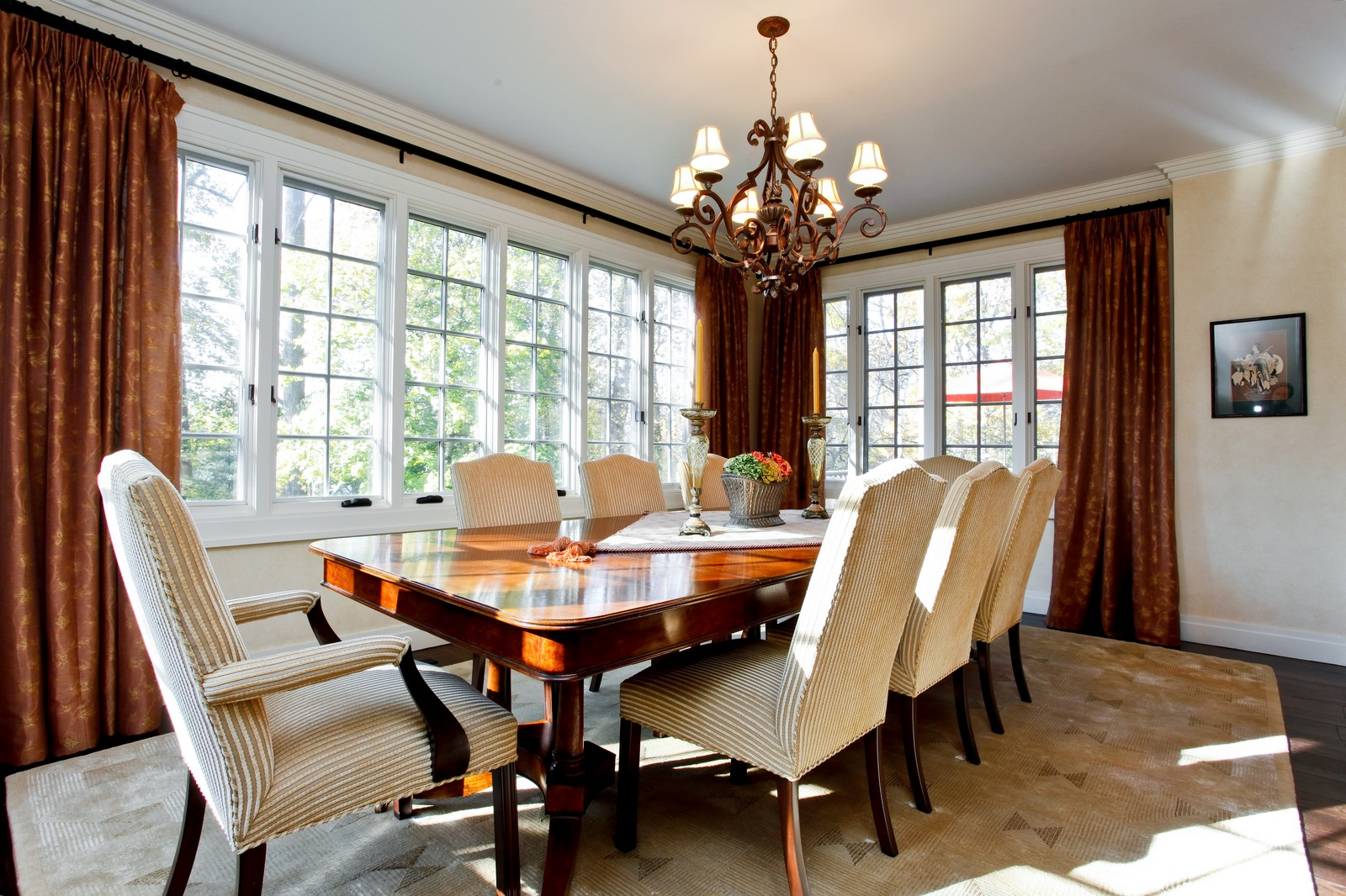 Real Estate Photography - 30 Hadden Rd, Scarsdale, NY, 10583 - Dining Room