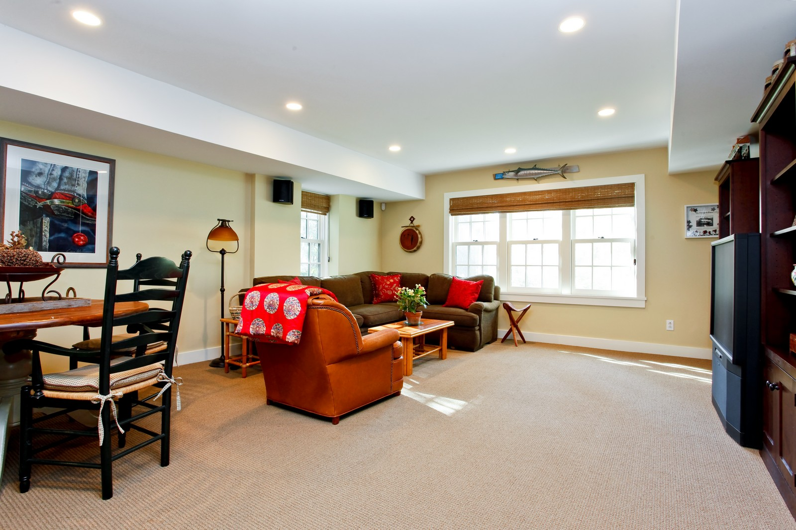 Real Estate Photography - 30 Hadden Rd, Scarsdale, NY, 10583 - Family Room