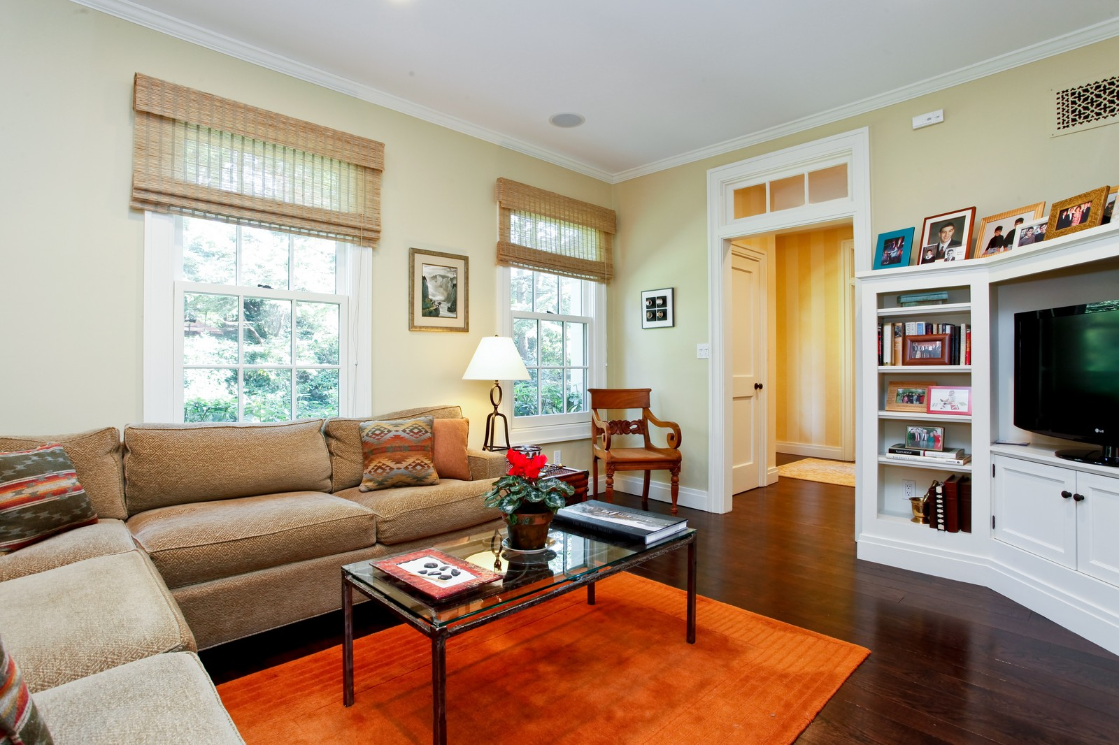 Real Estate Photography - 30 Hadden Rd, Scarsdale, NY, 10583 - Den