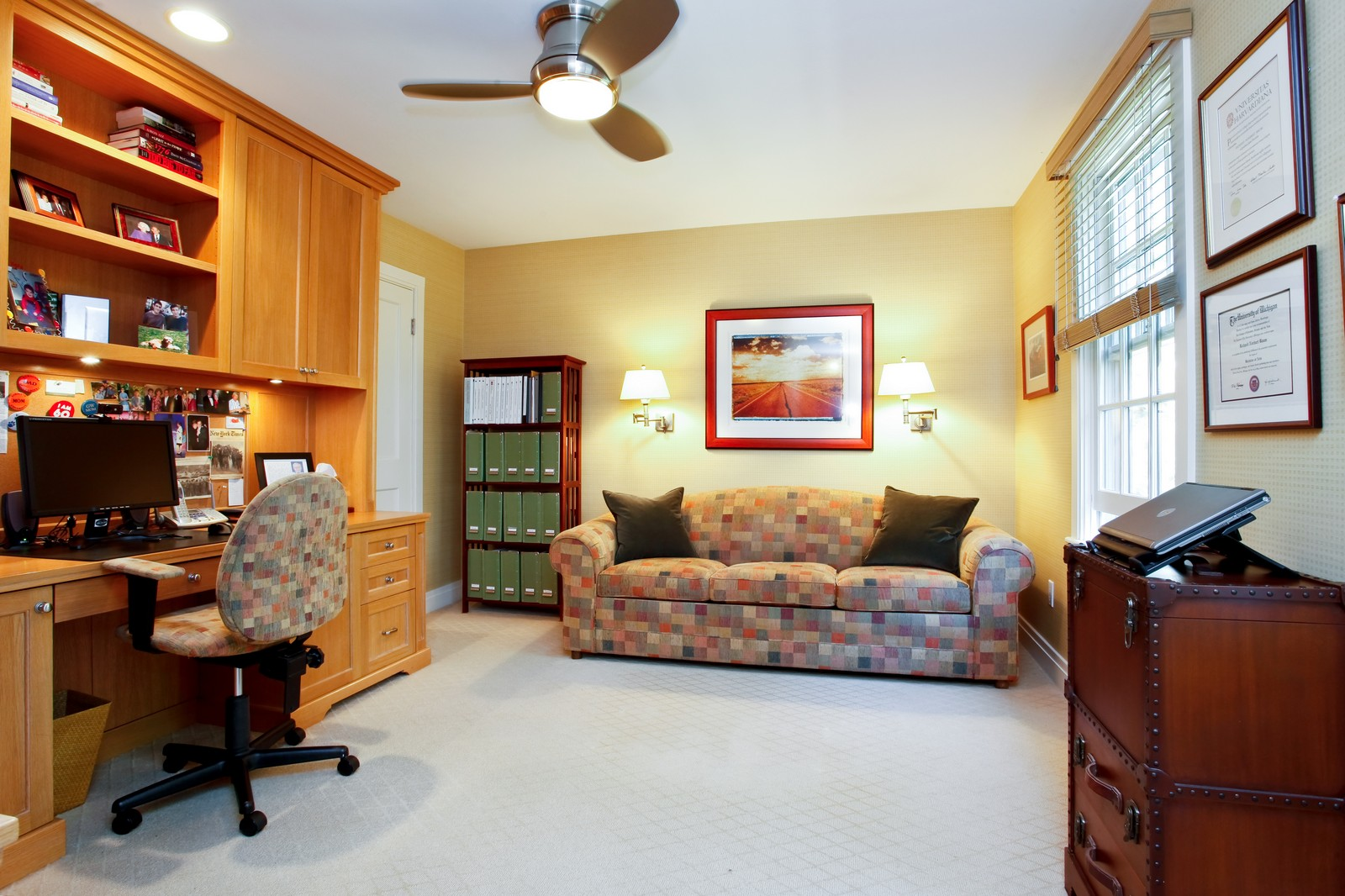 Real Estate Photography - 30 Hadden Rd, Scarsdale, NY, 10583 - Bedroom/Study