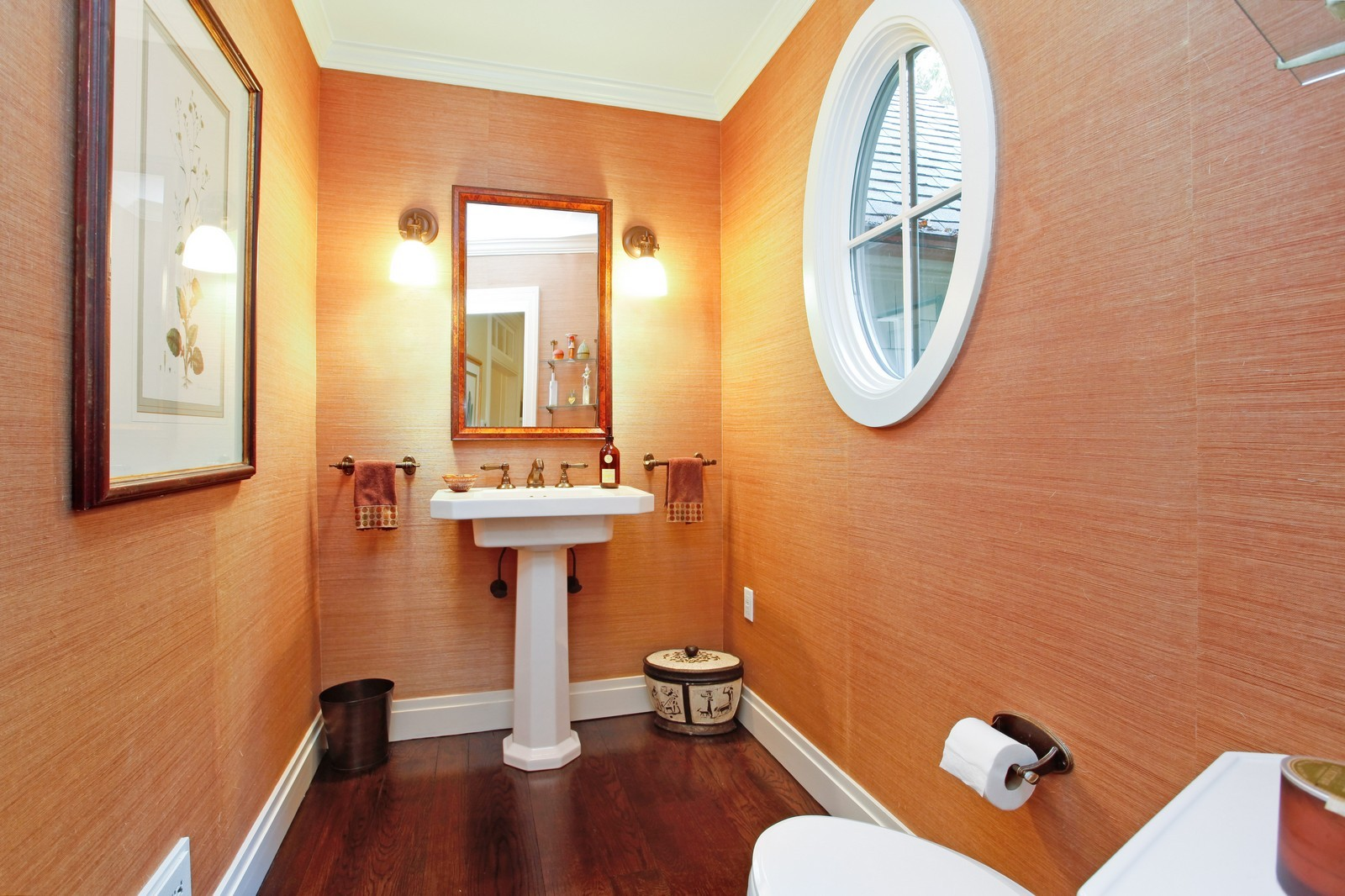 Real Estate Photography - 30 Hadden Rd, Scarsdale, NY, 10583 - Powder Room