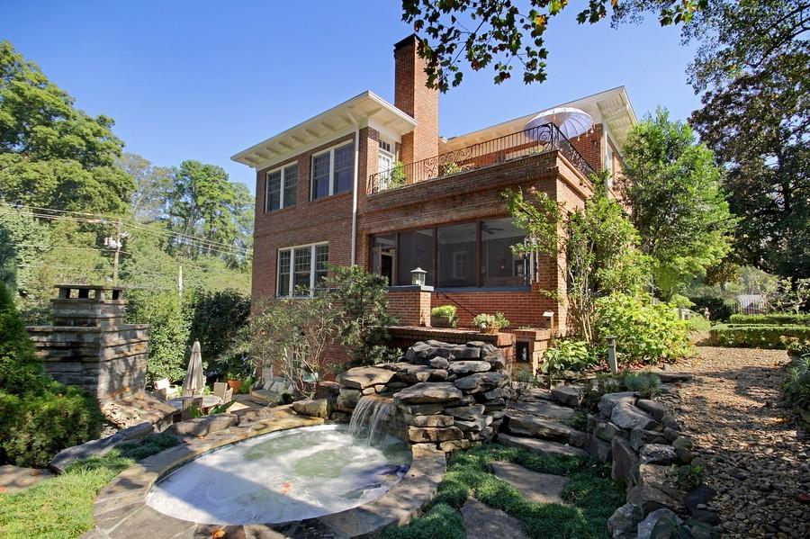 Real Estate Photography - 1000 Springdale Road, Atlanta, GA, 30306 - Rear View