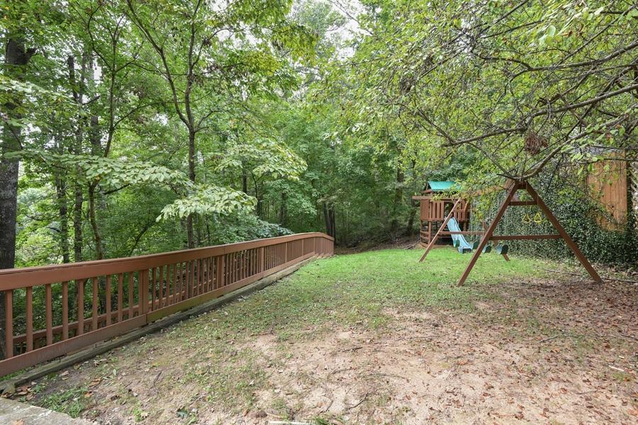 Real Estate Photography - 185 River North Ct, Sandy Springs, GA, 30328 - Back Yard