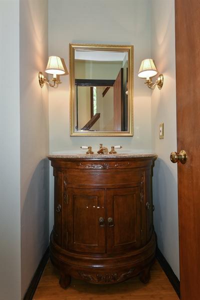 Real Estate Photography - 185 River North Ct, Sandy Springs, GA, 30328 - Half Bath