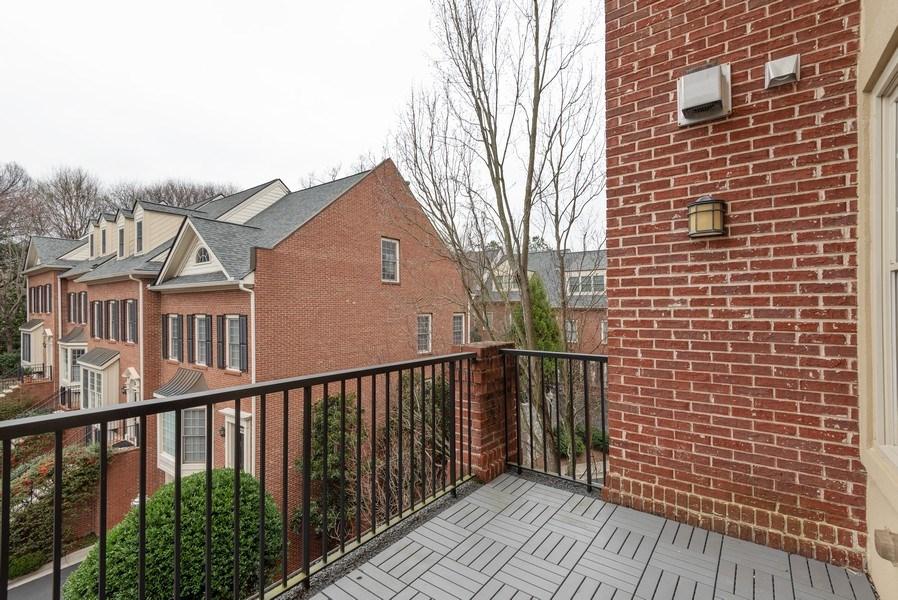 Real Estate Photography - 1735 Peachtree St, #331, Atlanta, GA, 30309 - Balcony