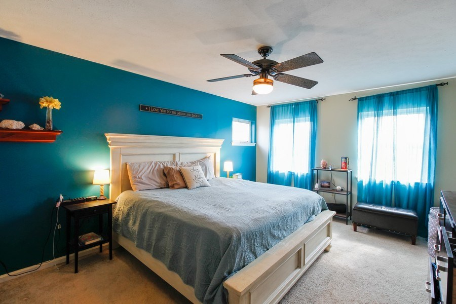 Real Estate Photography - 26 White Oak Bend, Rochester, NY, 14624 - Master Bedroom
