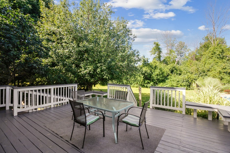 Real Estate Photography - 26 White Oak Bend, Rochester, NY, 14624 - Deck