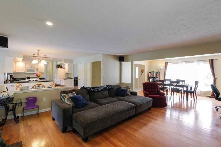 Real Estate Photography - 26 White Oak Bend, Rochester, NY, 14624 - Living Room/Dining Room
