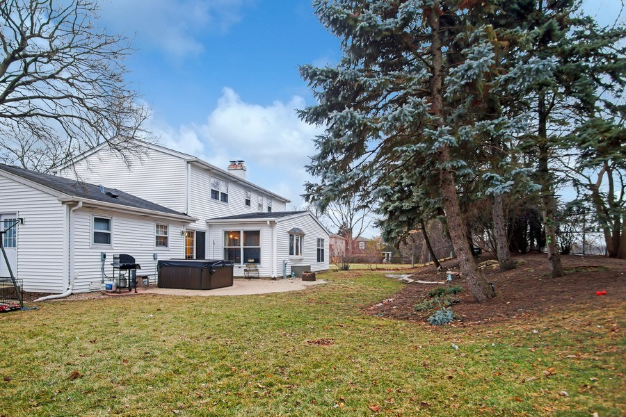 Real Estate Photography - 846 W Partridge Dr, Palatine, IL, 60067 - Rear View