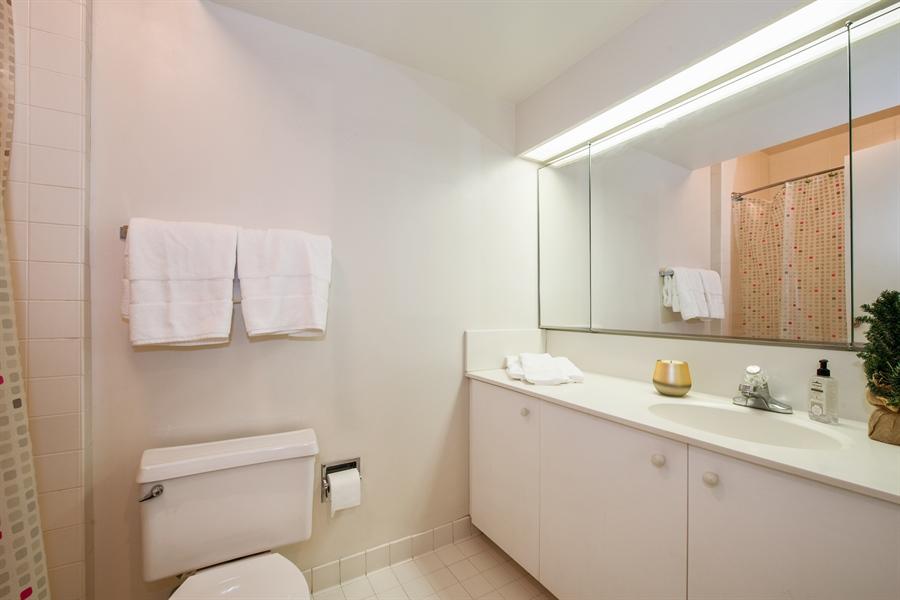 Real Estate Photography - 400 Ohio St, 2004, Chicago, IL, 60654 - Master Bathroom