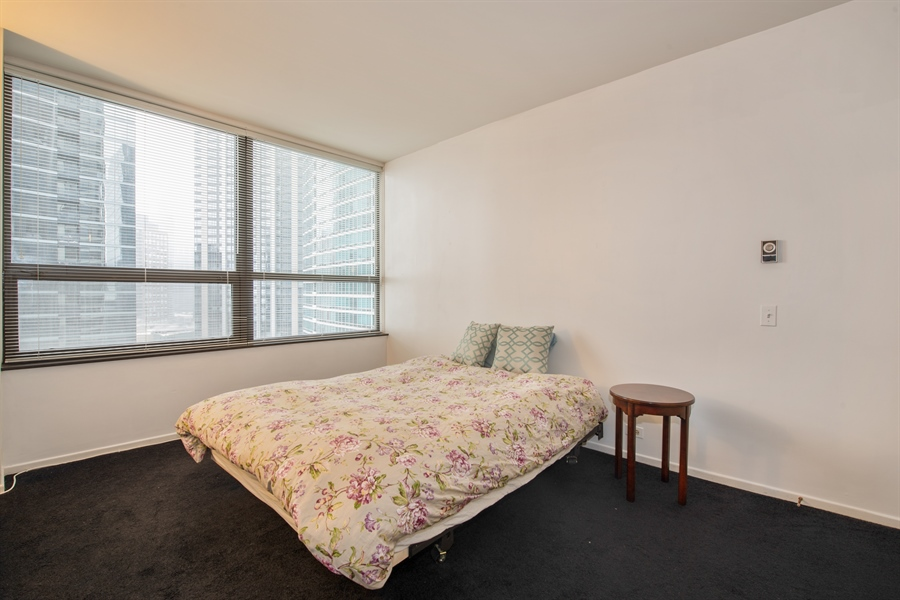 Real Estate Photography - 400 Ohio St, 2004, Chicago, IL, 60654 - Bedroom