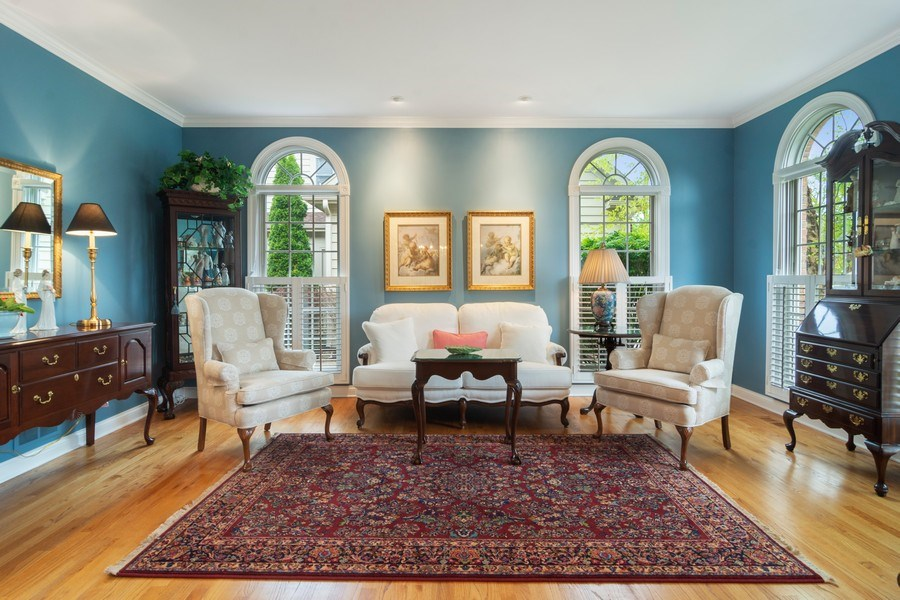 Real Estate Photography - 848 W Willow, Palatine, IL, 60067 - Living Room