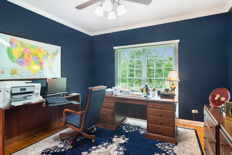 Real Estate Photography - 848 W Willow, Palatine, IL, 60067 - Study