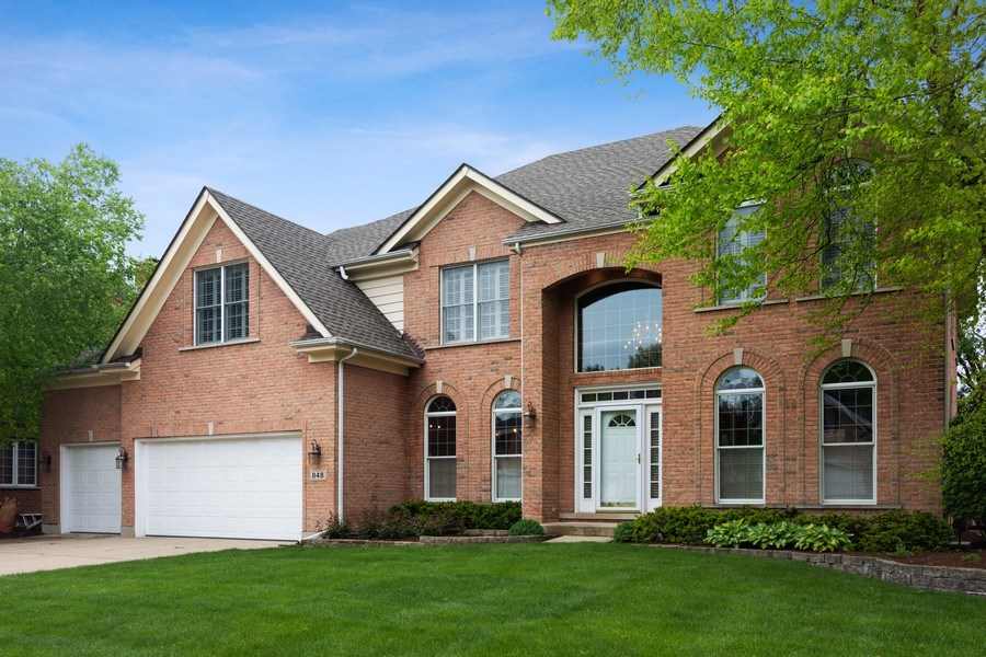 Real Estate Photography - 848 W Willow, Palatine, IL, 60067 - Front View