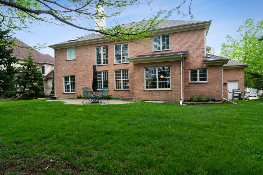 Real Estate Photography - 848 W Willow, Palatine, IL, 60067 - Rear View