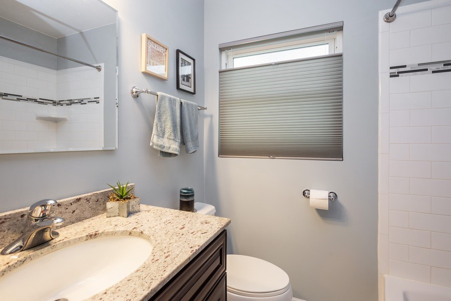 Real Estate Photography - 7 N Rose Ave, Addison, IL, 60101 - Bathroom