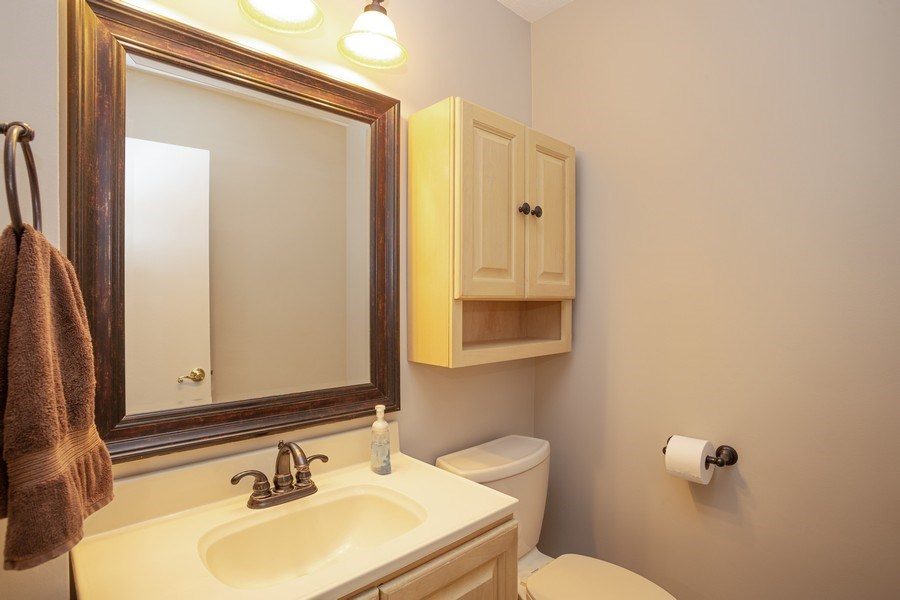 Real Estate Photography - 126 S Dwyer St, Arlington Heights, IL, 60005 - Powder Room
