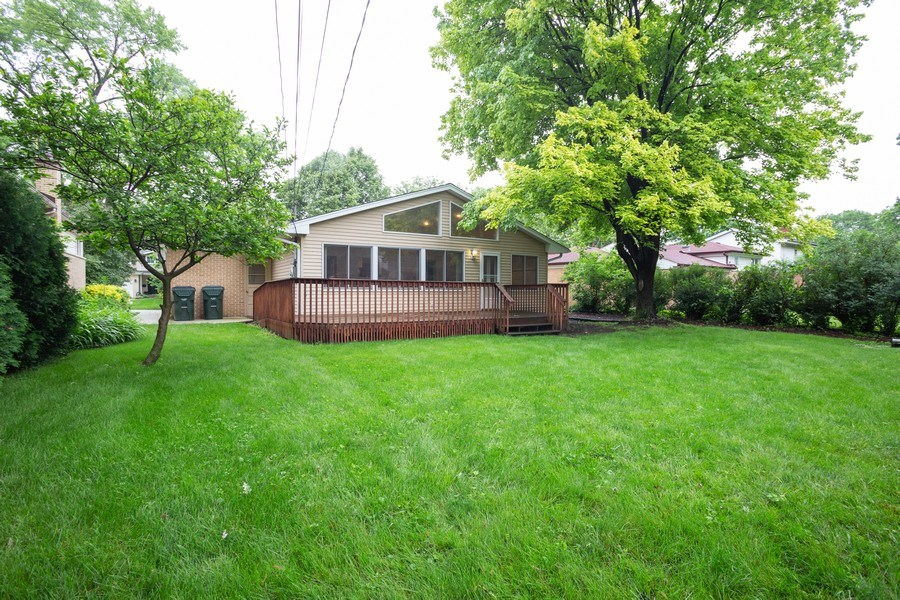 Real Estate Photography - 126 S Dwyer St, Arlington Heights, IL, 60005 - Rear View