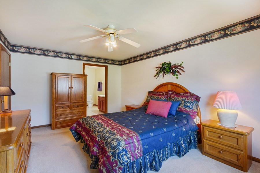 Real Estate Photography - 7775 Bristol Park Dr, Unit 3NW, Tinley Park, IL, 60477 - 2nd Bedroom