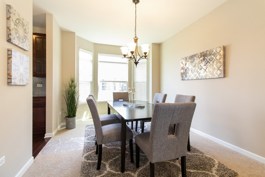 Real Estate Photography - 516 Regal, Bolingbrook, IL, 60490 - Dining Room