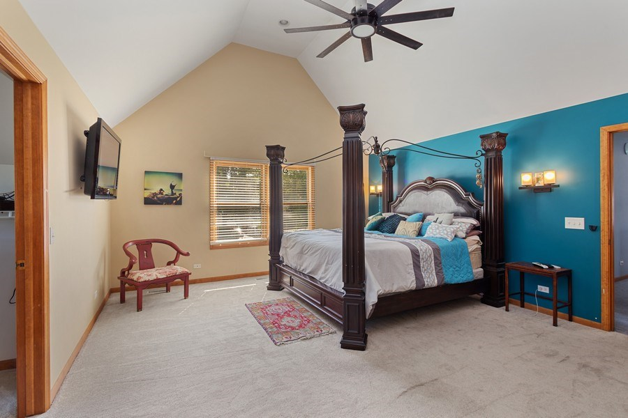 Real Estate Photography - 6N734 Pine st, Bensenville, IL, 60106 - Master Bedroom