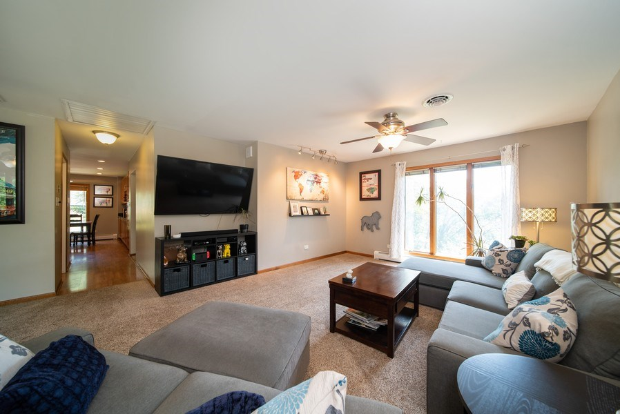 Real Estate Photography - 543 Blackhawk Dr, Lake in the Hills, IL, 60156 - Living Room