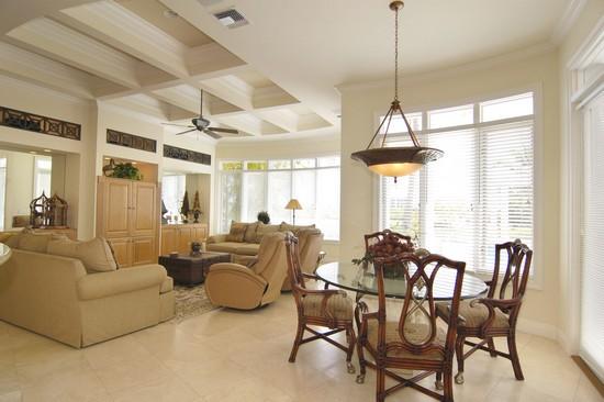 Real Estate Photography - 3527 Jonathans Harbour Dr, Jupiter, FL, 33477 - Family Room
