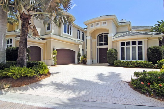 Real Estate Photography - 3527 Jonathans Harbour Dr, Jupiter, FL, 33477 - Front View