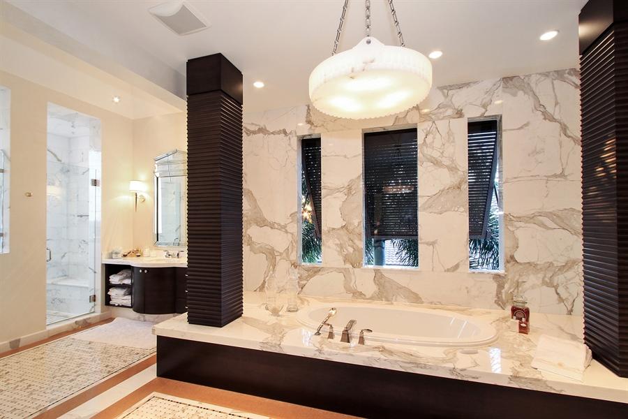Real Estate Photography - 118 Clipper Lane, Jupiter, FL, 33477 - Master Bathroom