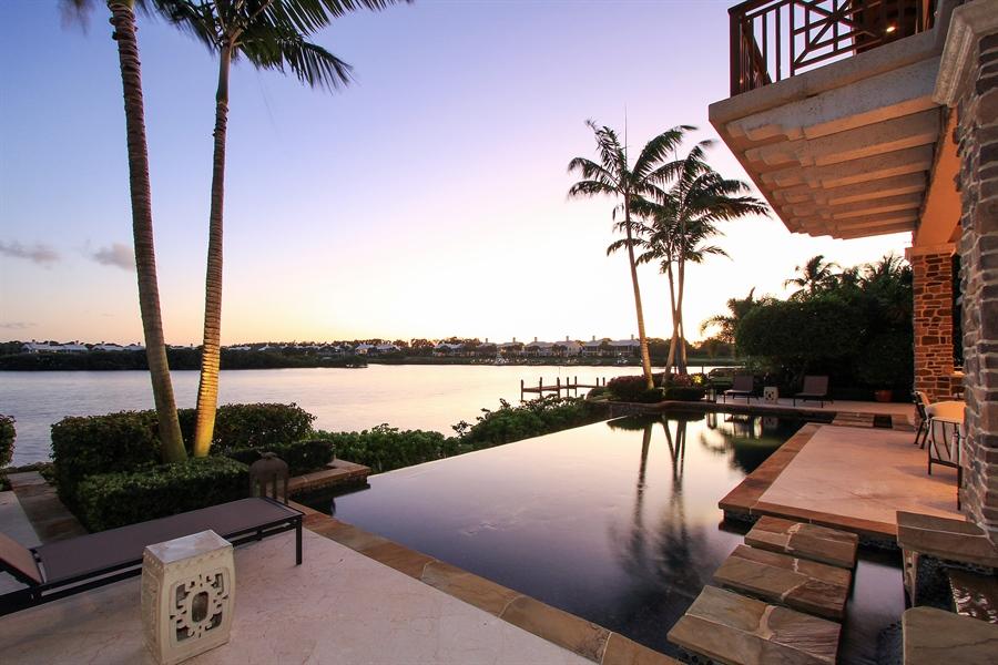 Real Estate Photography - 118 Clipper Lane, Jupiter, FL, 33477 - Pool