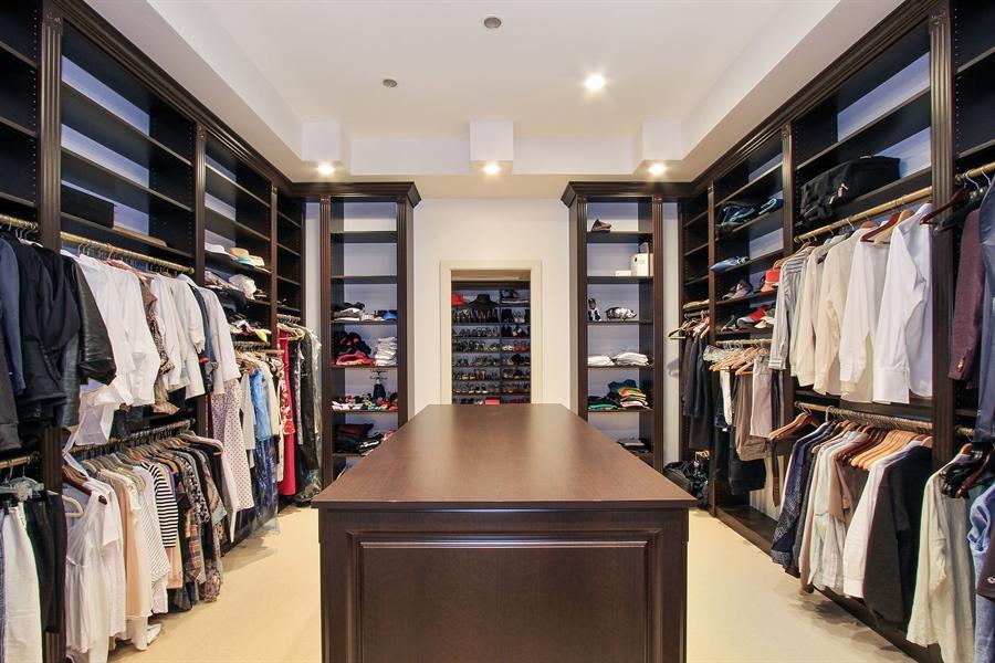 Real Estate Photography - 118 Clipper Lane, Jupiter, FL, 33477 - Master Bedroom Closet
