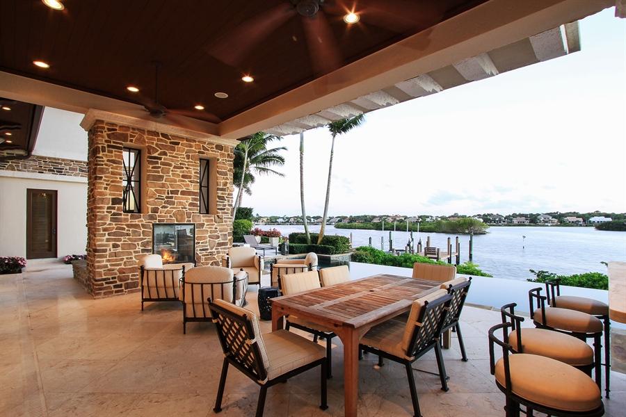 Real Estate Photography - 118 Clipper Lane, Jupiter, FL, 33477 - Loggia