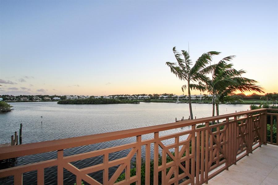 Real Estate Photography - 118 Clipper Lane, Jupiter, FL, 33477 - Balcony