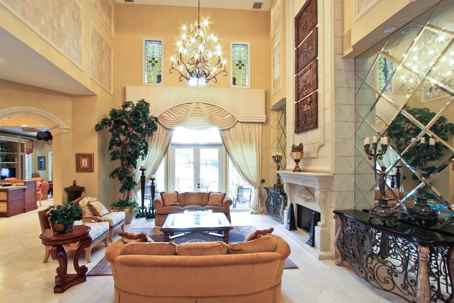 Real Estate Photography - 789 Harbour Isles Court, North Palm Beach, FL, 33410 - Living Room