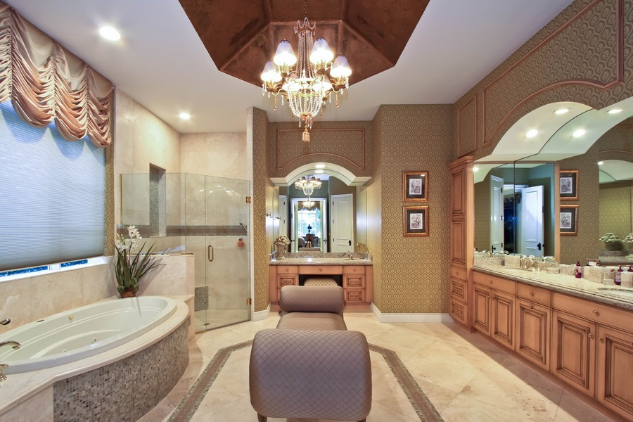 Real Estate Photography - 789 Harbour Isles Court, North Palm Beach, FL, 33410 - Master Bathroom