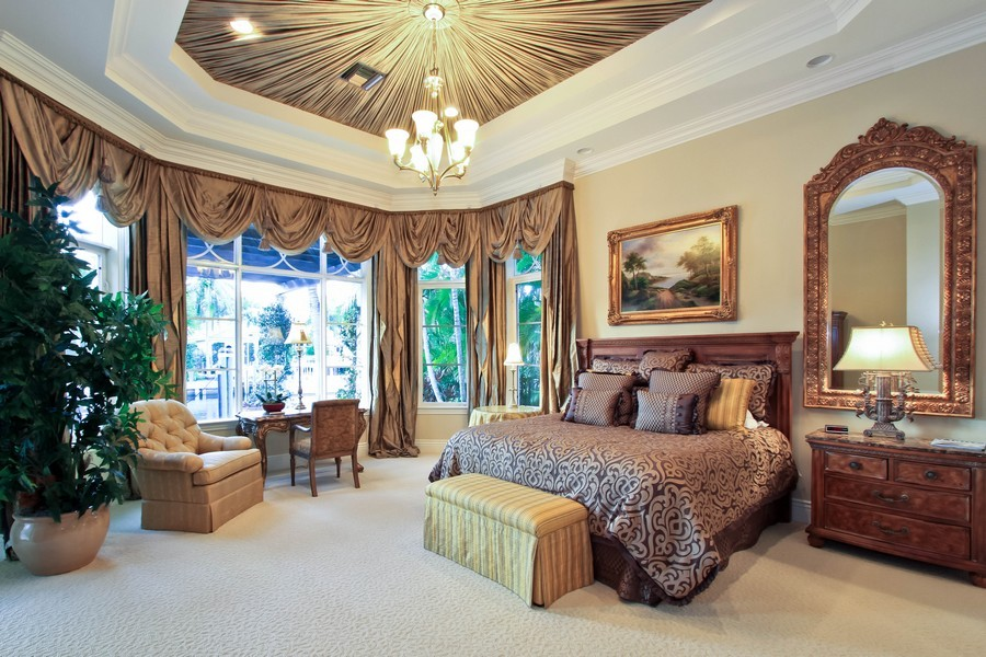 Real Estate Photography - 789 Harbour Isles Court, North Palm Beach, FL, 33410 - Master Bedroom