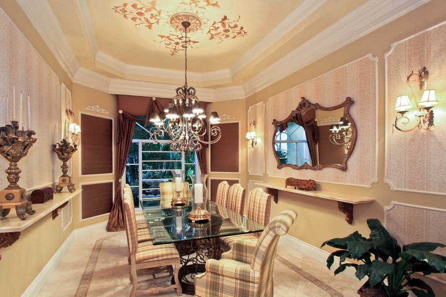 Real Estate Photography - 789 Harbour Isles Court, North Palm Beach, FL, 33410 - Dining Room
