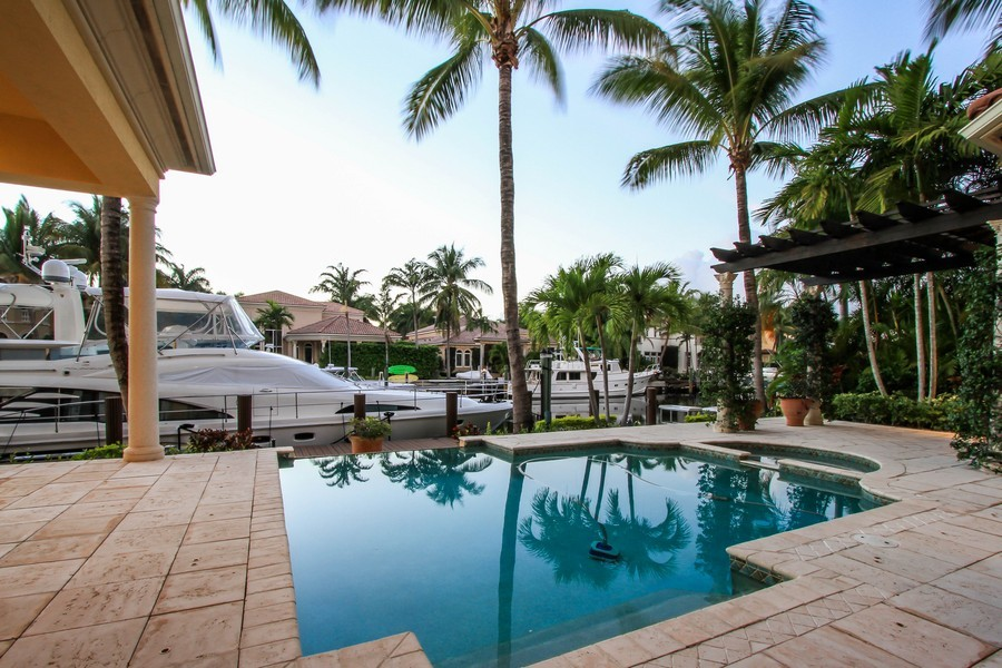 Real Estate Photography - 789 Harbour Isles Court, North Palm Beach, FL, 33410 - Pool