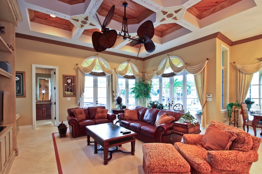 Real Estate Photography - 789 Harbour Isles Court, North Palm Beach, FL, 33410 - Family Room