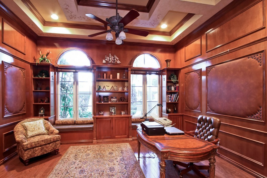 Real Estate Photography - 789 Harbour Isles Court, North Palm Beach, FL, 33410 - Den