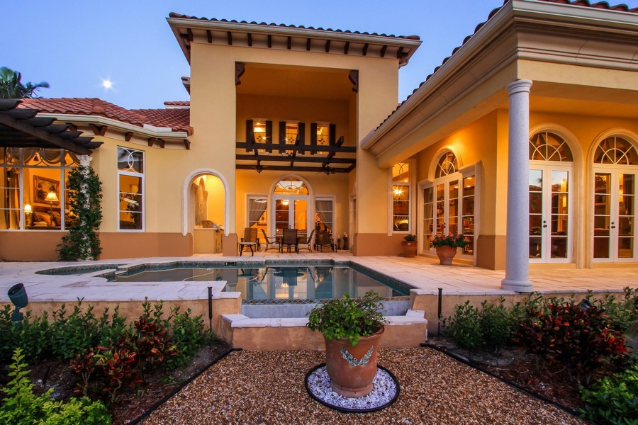 Real Estate Photography - 789 Harbour Isles Court, North Palm Beach, FL, 33410 - Rear View