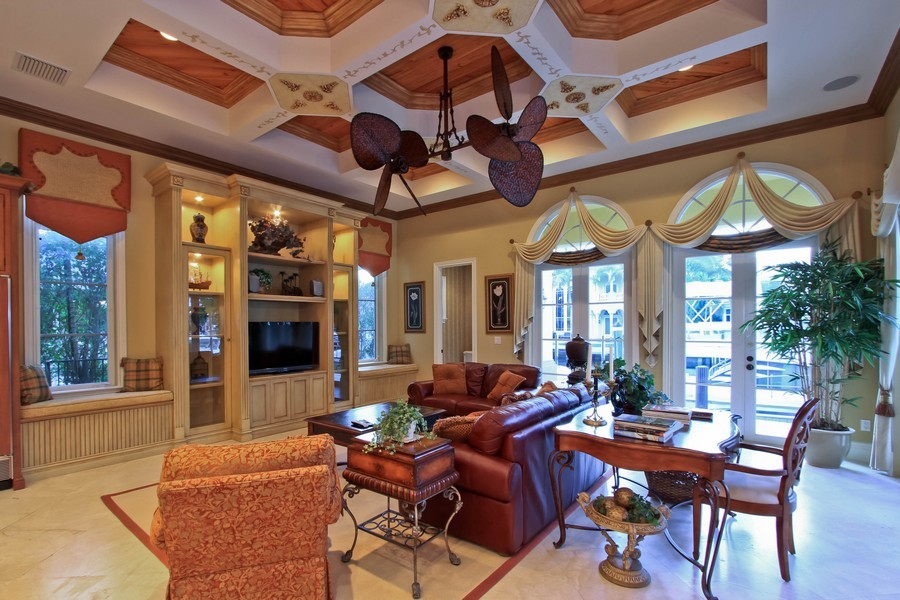 Real Estate Photography - 789 Harbour Isles Court, North Palm Beach, FL, 33410 - Family Room / Kitchen