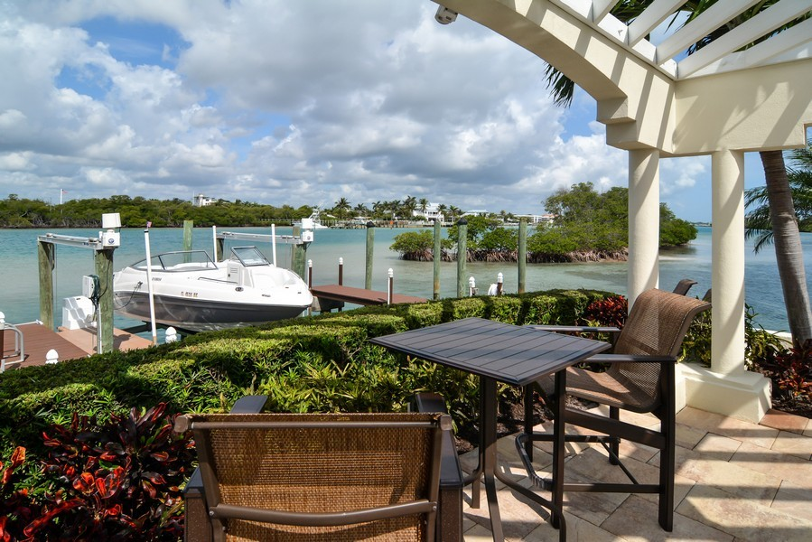 Real Estate Photography - 425 Beach Road, 7-O, Jupiter Island, FL, 33469 - Dock