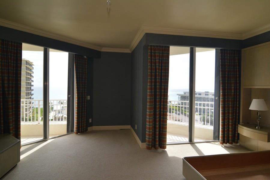 Real Estate Photography - 425 Beach Road, 7-O, Jupiter Island, FL, 33469 - Master Bedroom