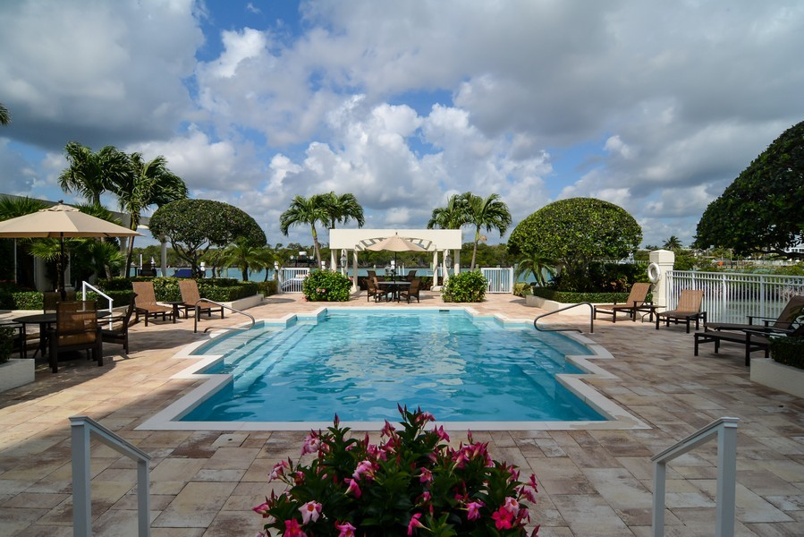 Real Estate Photography - 425 Beach Road, 7-O, Jupiter Island, FL, 33469 - Pool